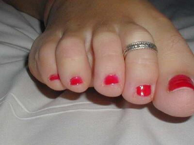 anellino al piede