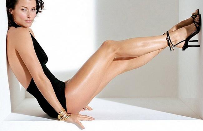 Bridget Moynahan senza calze